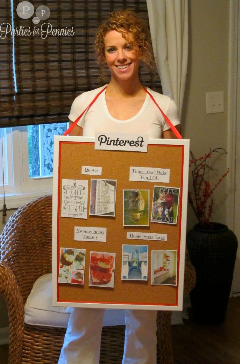 cork board costume