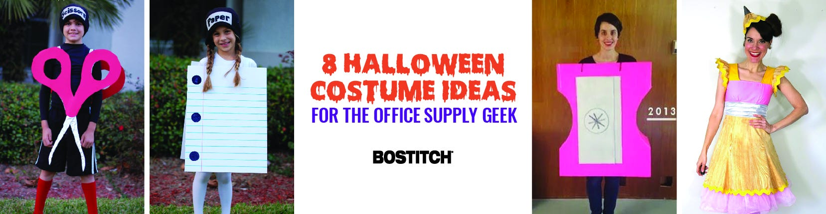 8 Halloween Costumes Office Supply Geeks Will Love