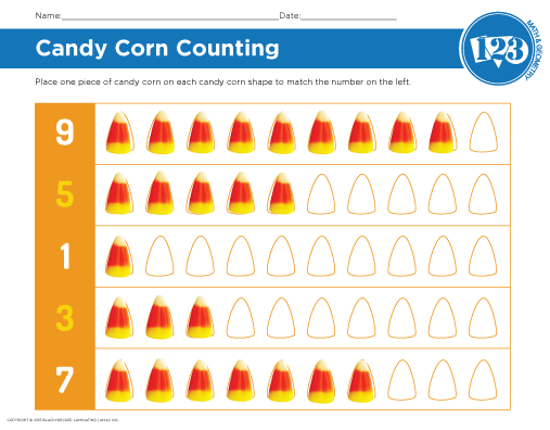 Candy Corn Printable
