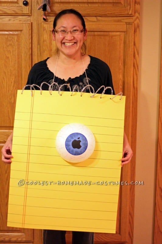 eye-pad costume