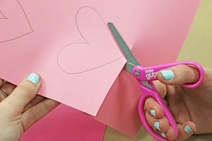 cutting hearts