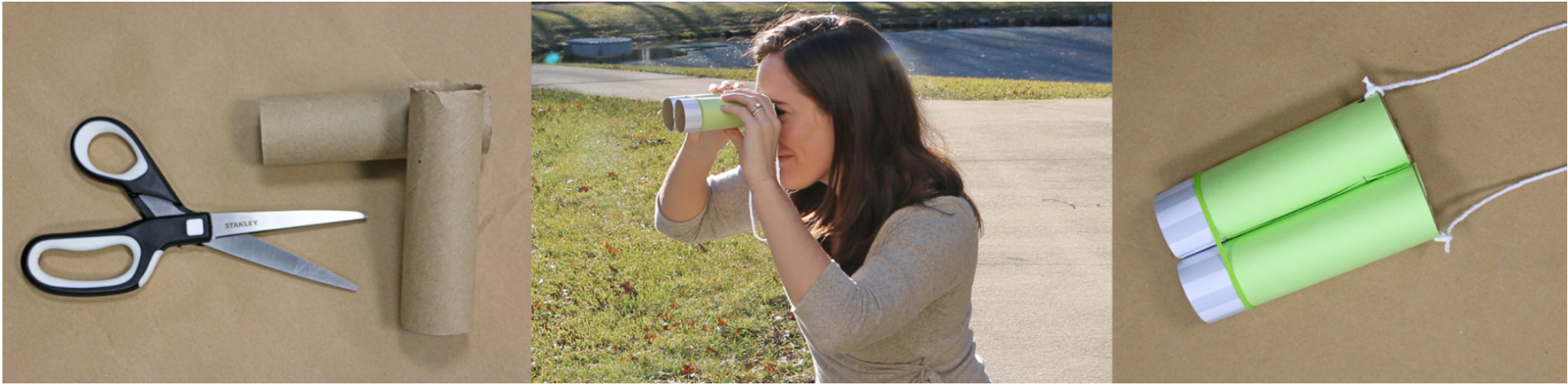 Saint Patrick's Day Craft: Leprechaun Binoculars