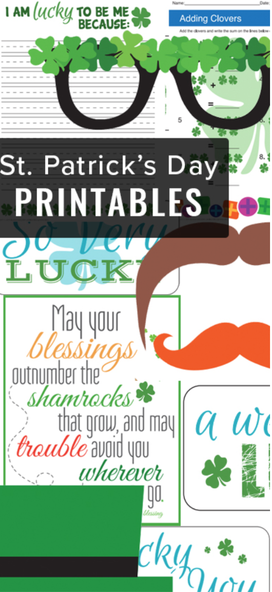 st. paddy's day printable pinterest