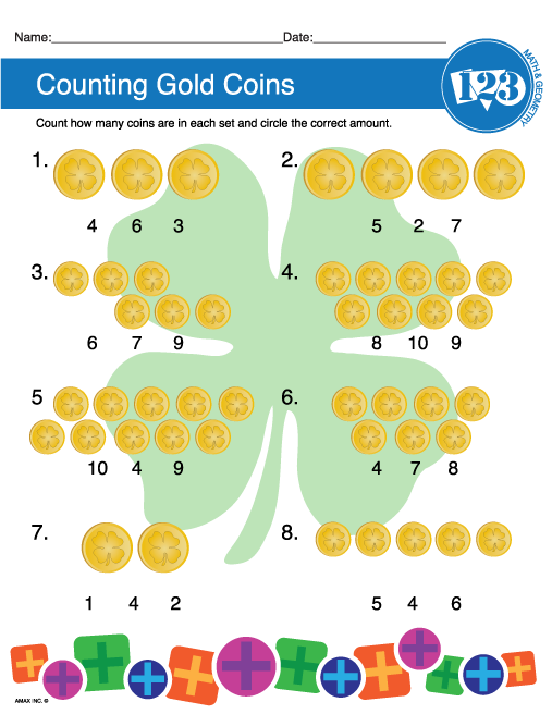 counting gold coins