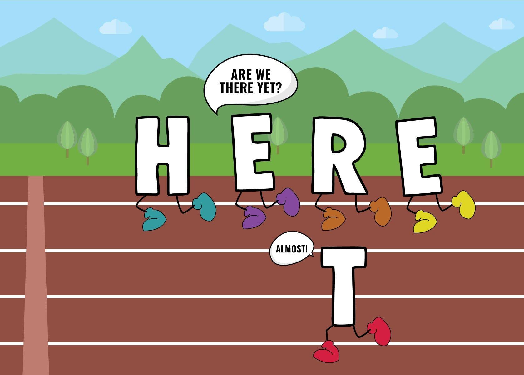 motivational pun card