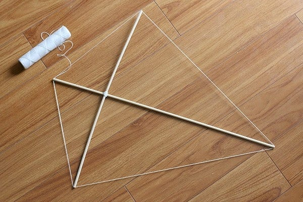 Step 1 of How to Make a Kite