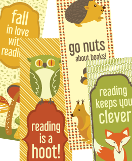Printable Bookmarks Fall