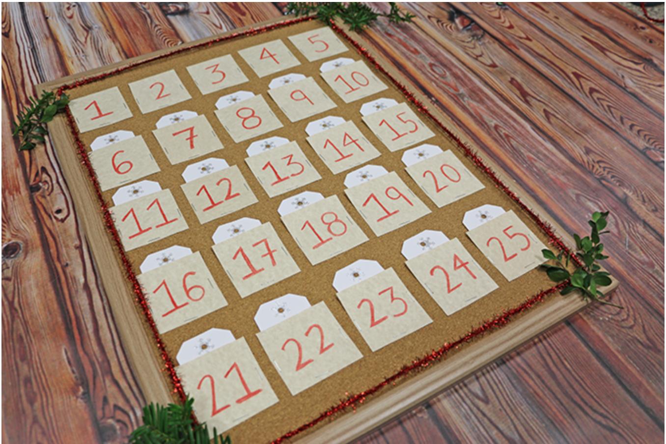 complete advent calendar diagonal