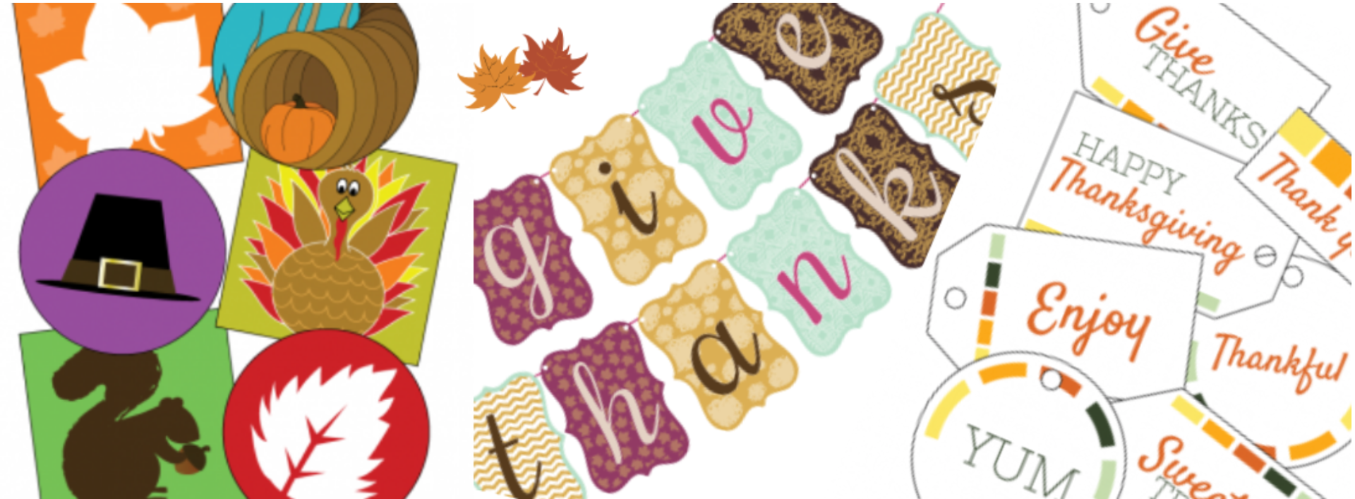 16 Free Thanksgiving Printables