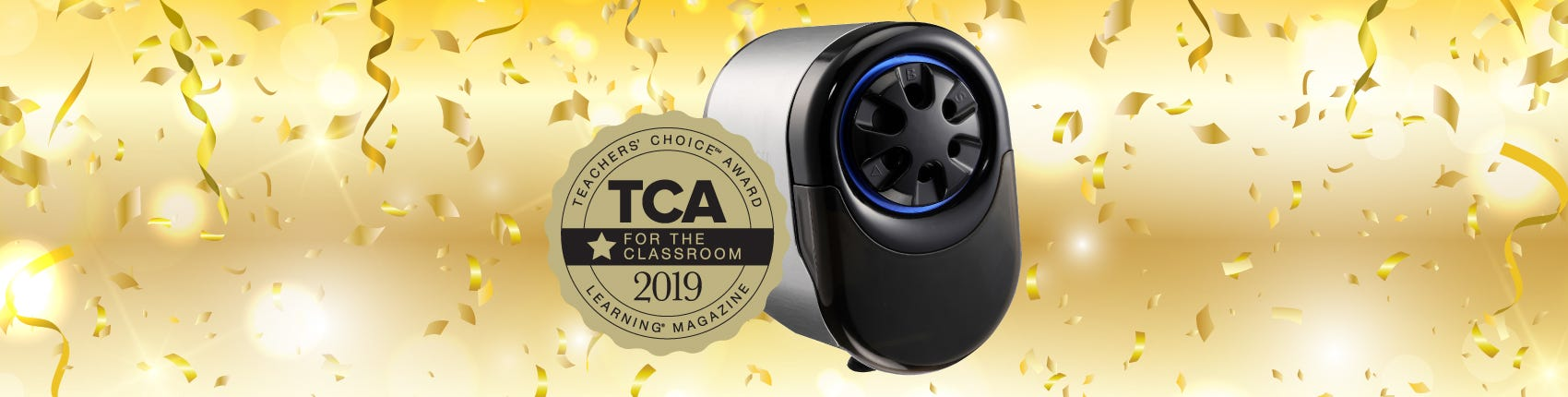 TCA 2019 Winner: QuietSharp™ Glow Electric Pencil Sharpener