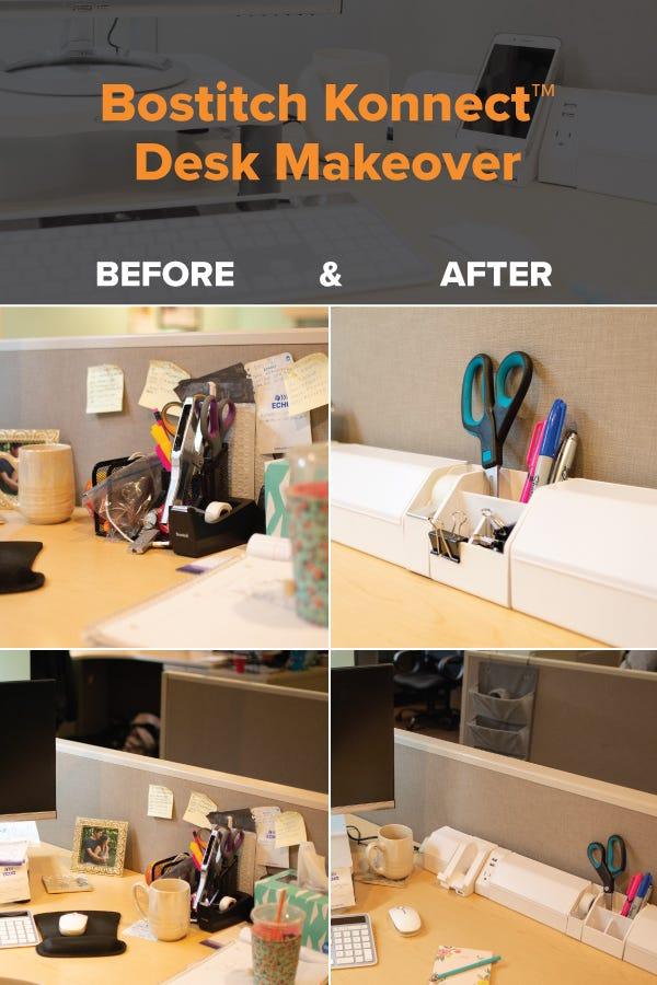 desk makeover pin