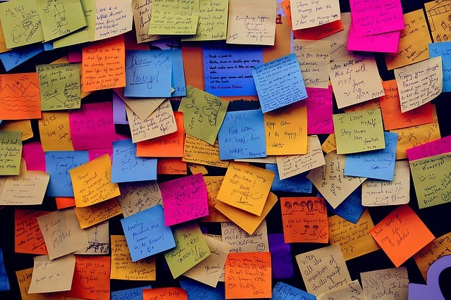 post-it to-do list