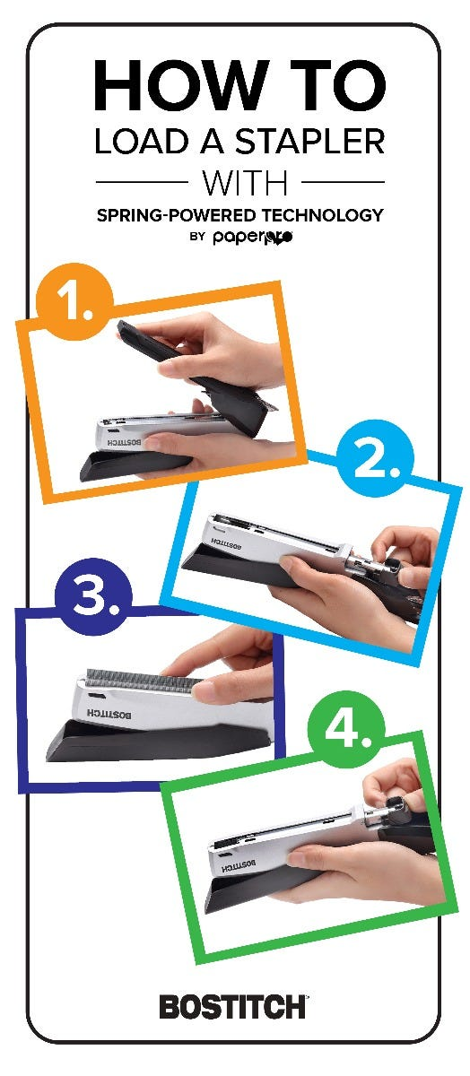 how to load a stapler pinterest