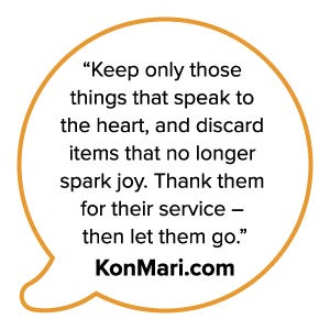 KonMari Quote