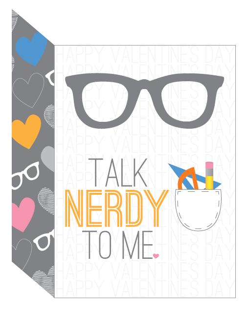 talk nerdy card
