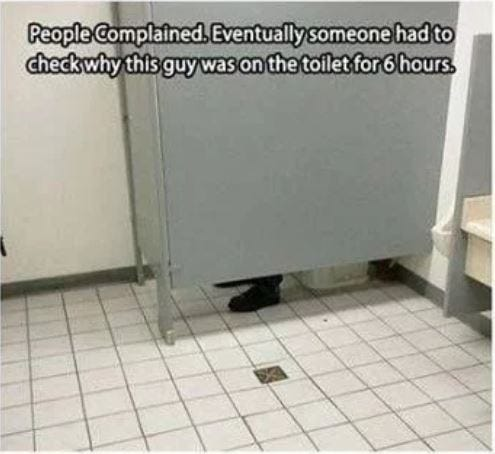 bathroom stall