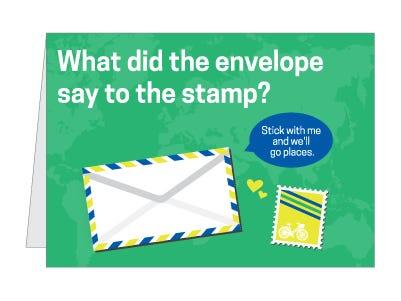 stamp card pun