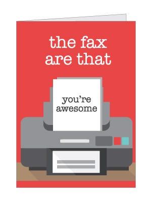 Fax card