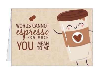 espresso card pun