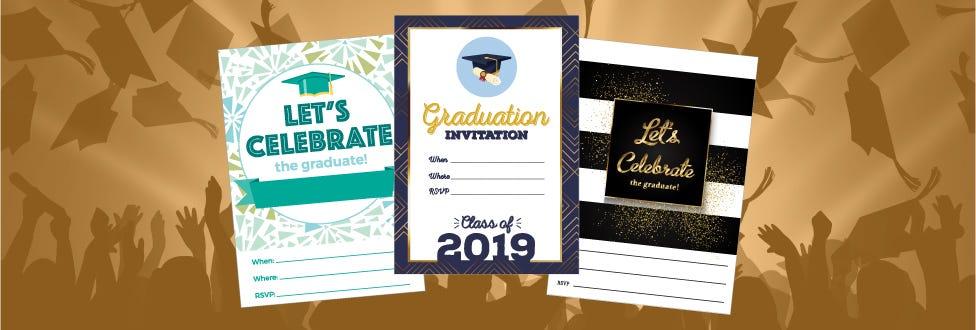 Printable Graduation Party Decorations