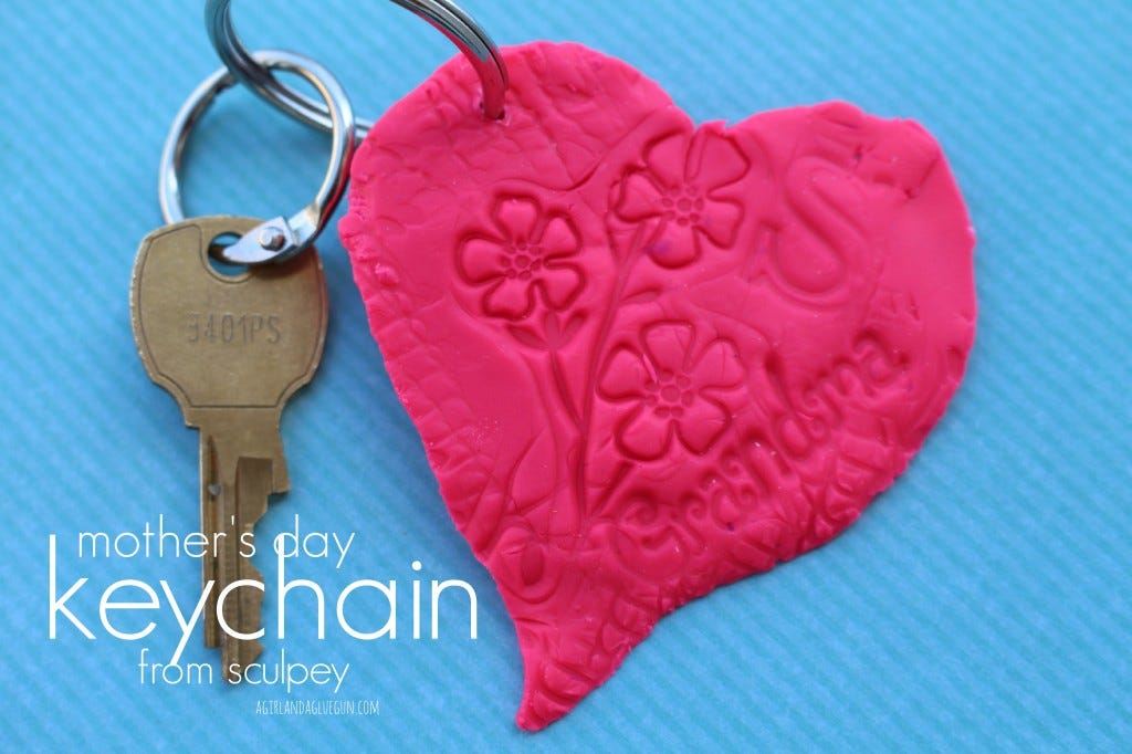 DIY Grandma Keychain