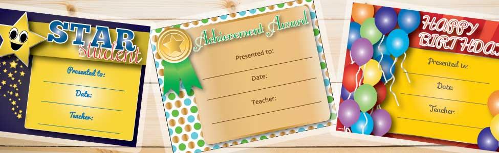 Free Printable Classroom Awards