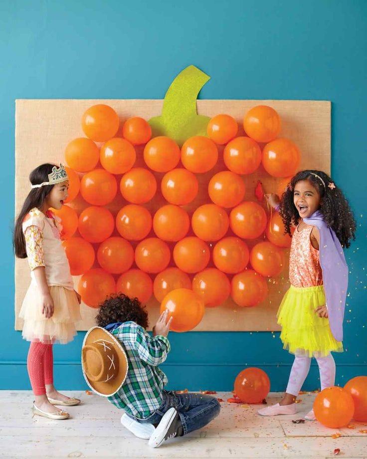 Pumpkin Balloon Pop