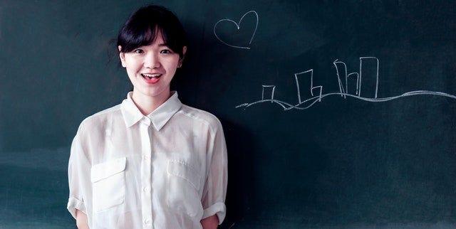 female future educator
