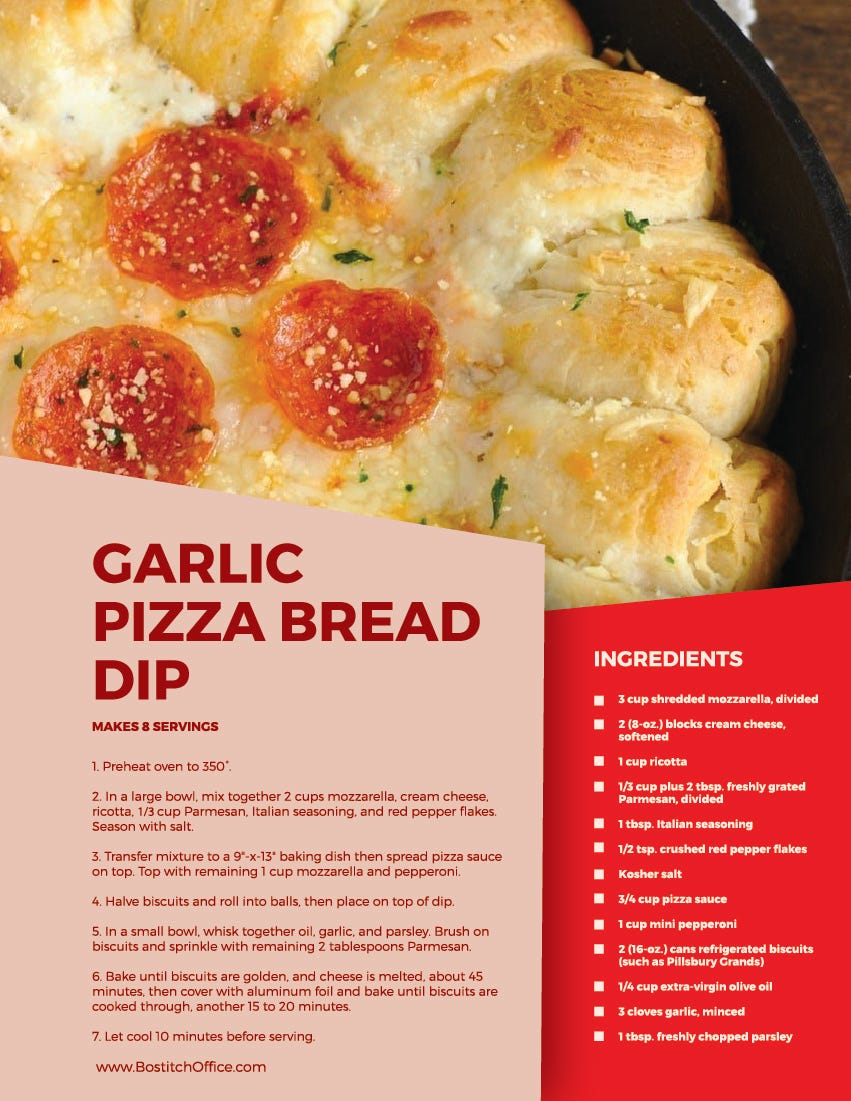 garlic pizza bread recipe