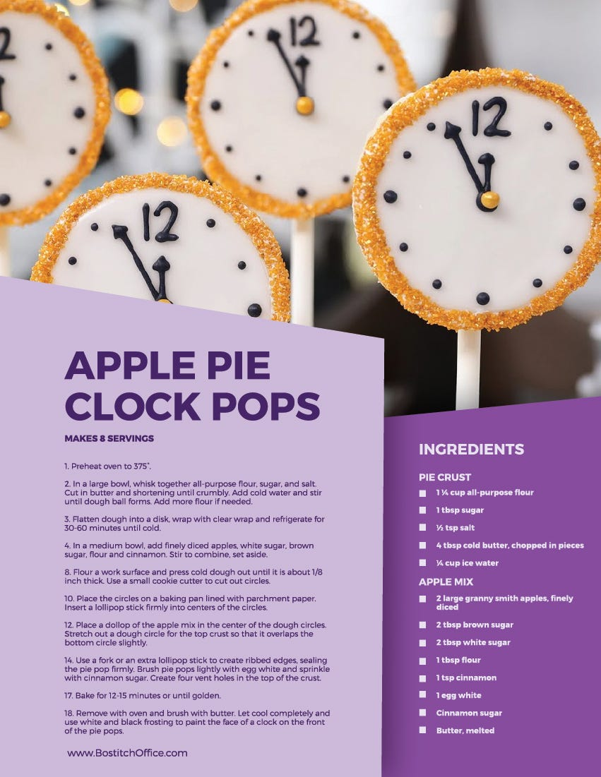 pie pop recipe