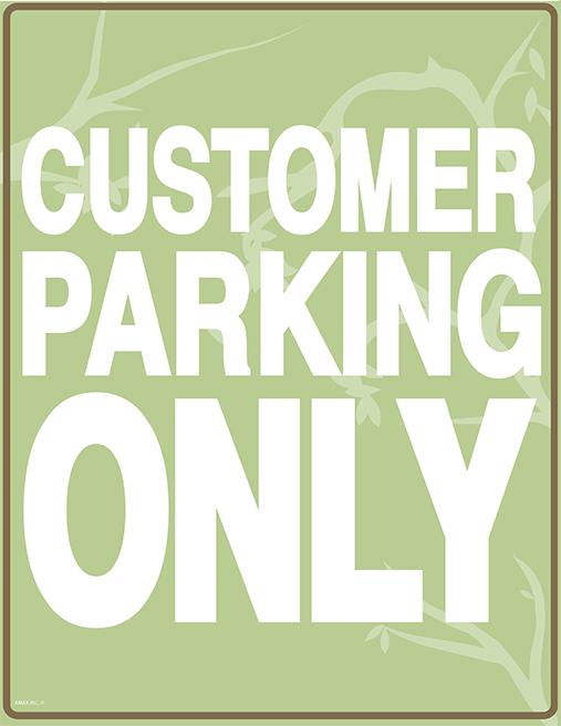 customer parking