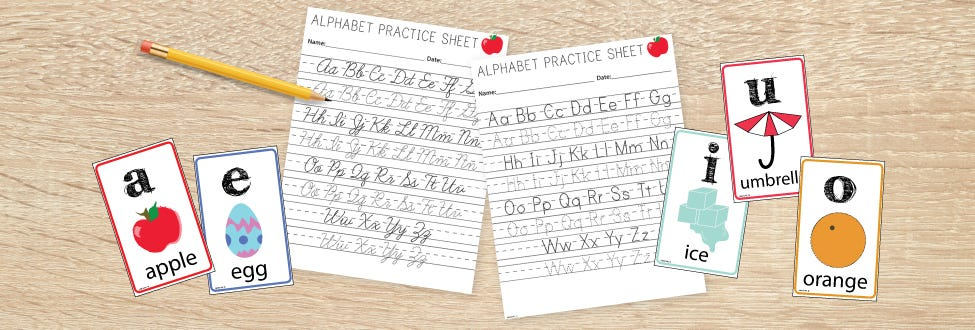 9 Free Printable Handwriting Worksheets Bostitch Office