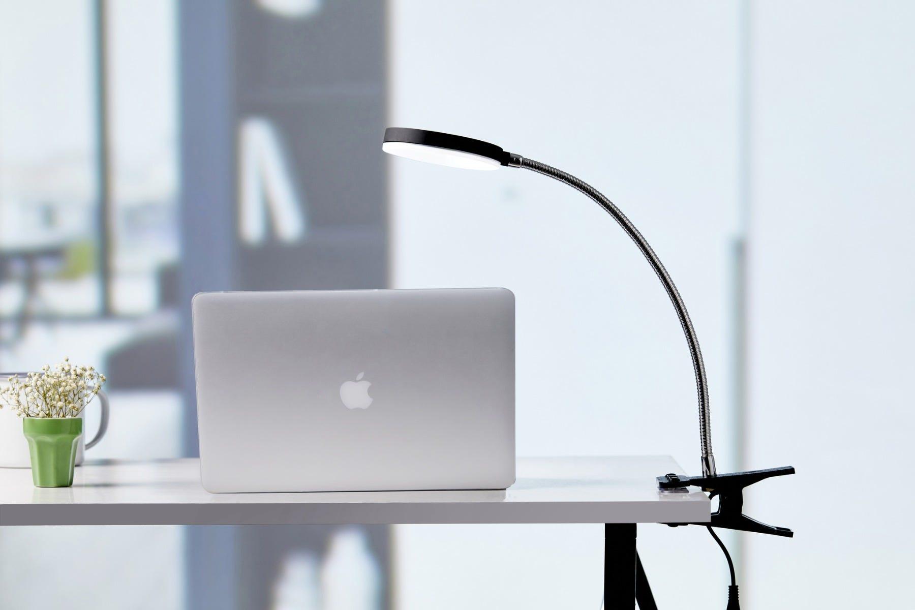 adjustable clamp desk lamp