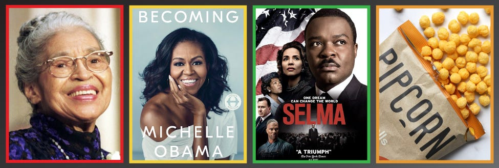 People, books and movies that celebrate Black History Month