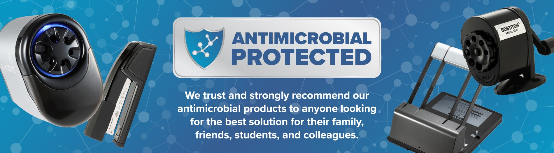 Antimicrobial Products for the Office and Classroom