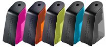 Battery Pencil Sharpener with Replaceable Cutter, Assorted Colors
