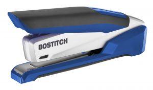 inPOWER+ 28 Premium Desktop Stapler, Blue/Silver