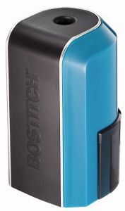 Blue Battery Pencil Sharpener