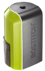 Vertical Electric Pencil Sharpener, Green