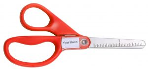 "5"" Orange Kids Scissors"