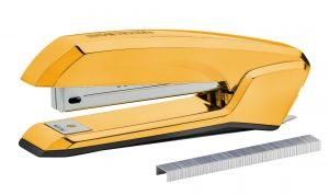 Bostitch Black and Gold Stapler Includes Staples