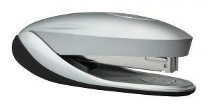 No-Jam™ Desktop Stapler, Silver and Black