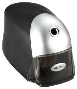Bostitch QuietSharp™ Executive Pencil Sharpener in Black