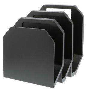 Black 3-Piece File Organizer