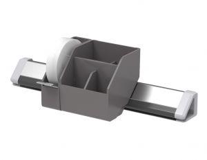 3-Piece Konnect™ Desktop Organizer in Gray
