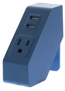 Blue Desktop Power Hub