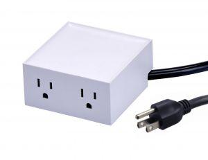 White Power Hub for Desk