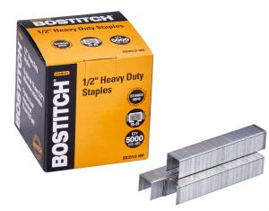 "Bostitch 1/2"" Heavy-Duty Staples for B310HDS and 00540"