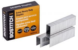 Bostitch Extra Heavy-Duty Staples for B380HD
