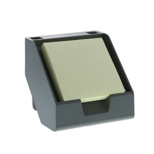 Sticky Note + Business Card Holder in Gray